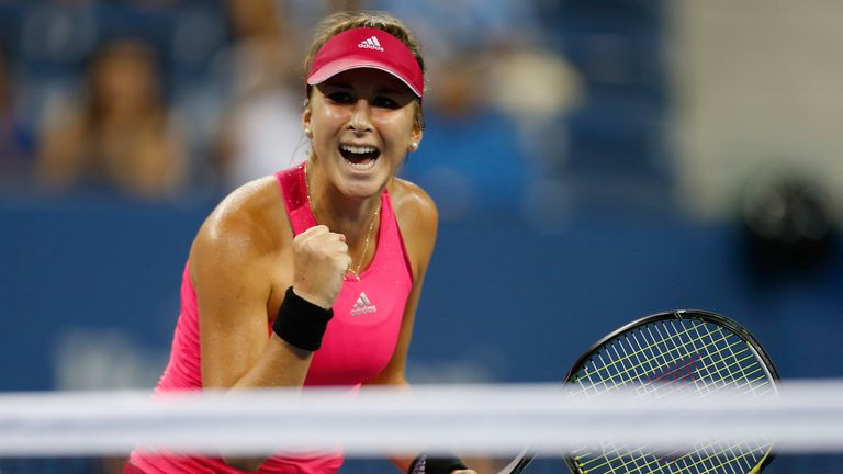 Belinda Bencic stunned Jelena Jankovic at the US Open
