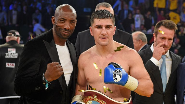 Johnny Nelson and Marco Huck share a record - thanks to Glowacki!