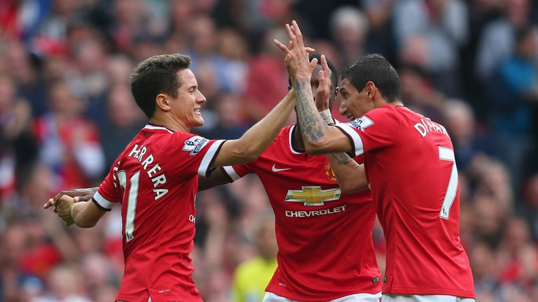 Angel Di Maria linked up well with his team-mates as he made things happen for those around him