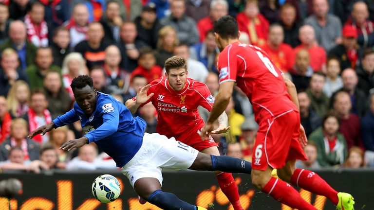 Liverpool's defenders will have to  find a way to stop the in-form Romelu Lukaku