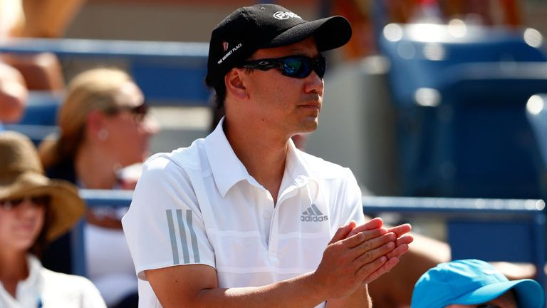 Chang has helped Nishikori