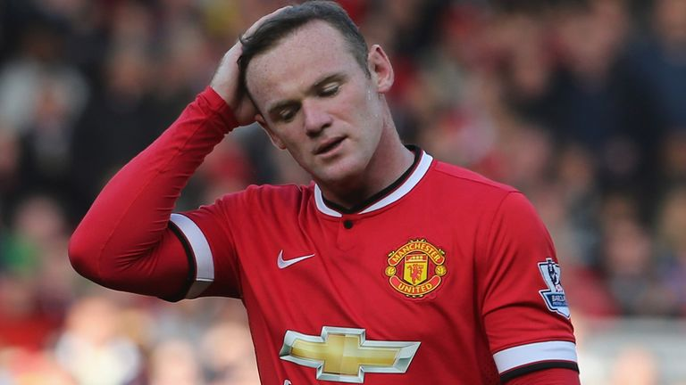Rooney: the  13th Man Utd player to see red at Old Trafford in the Premier League