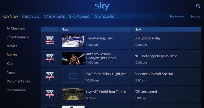 Sky Go Watch Live