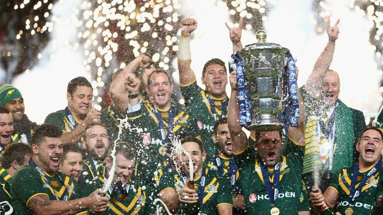 Australia won the Rugby League World Cup in 2013.