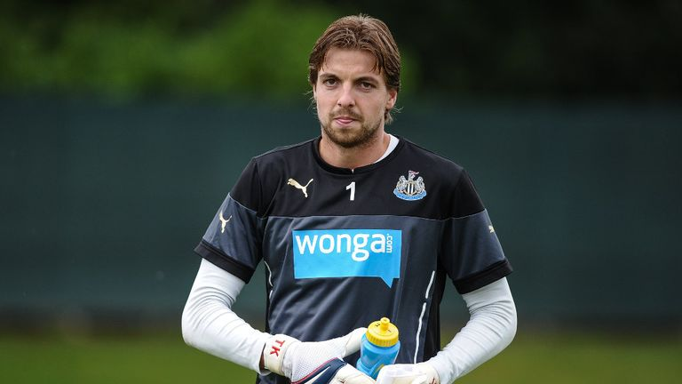 Tim Krul: Expected to take his place in goal against Leicester this weekend