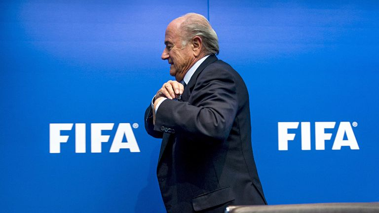 Blatter is due to start FIFA's two-day meeting on Thursday