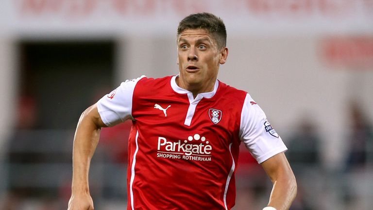 Alex Revell: On target for Rotherham United at Wigan