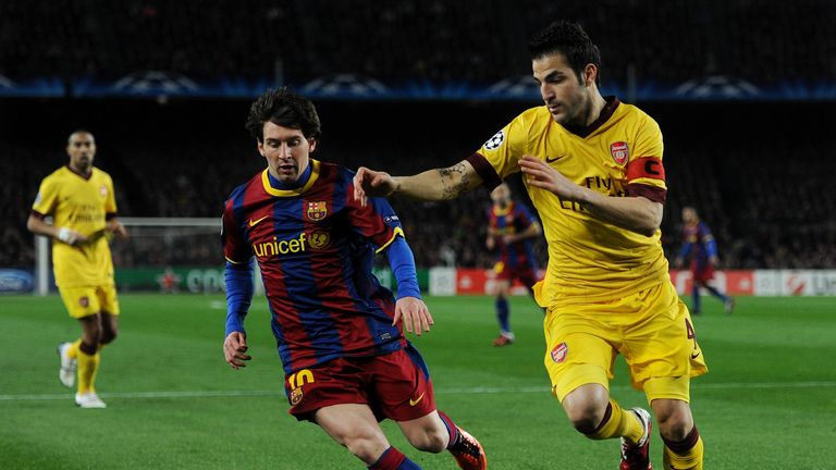 Arsenal tried to sign Messi, as well as Fabregas and Pique, from Barcelona, writes Guillem