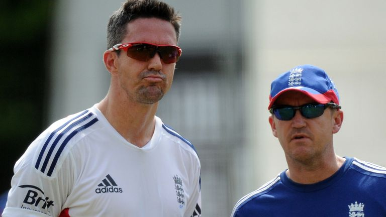 Pietersen struggled to get along with then head coach Andy Flower towards the end of his playing career