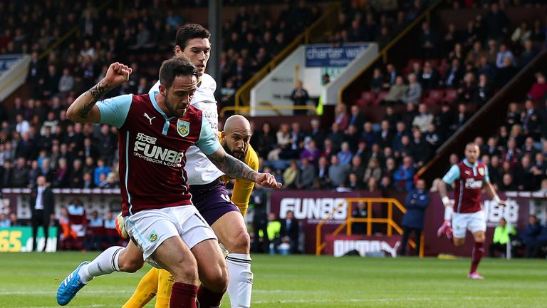 A lot will be resting on Danny Ings' shoulders when Burnley travel to Everton