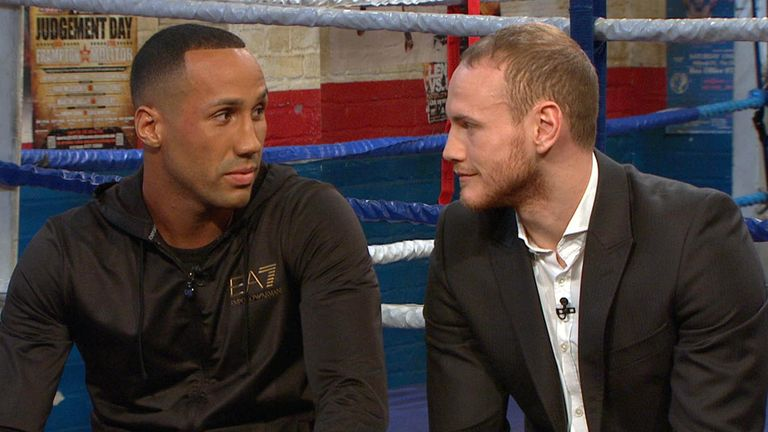 Jamed DeGale and George Groves: should both end up with world titles soon, says Paul