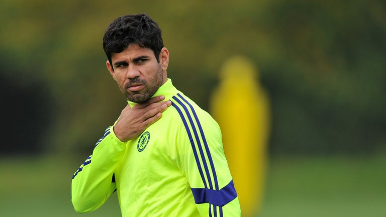 Diego Costa: Is expected to be in contention to face QPR