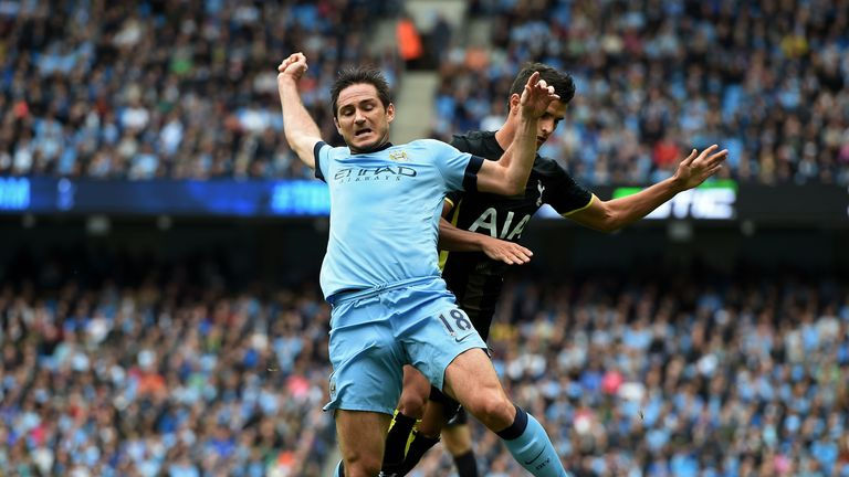 Frank Lampard: Picked up an injury