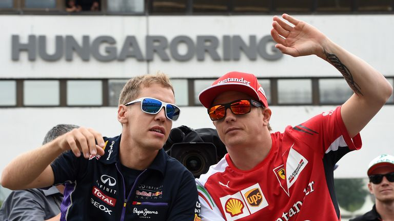 Ferrari team-mates in 2015?