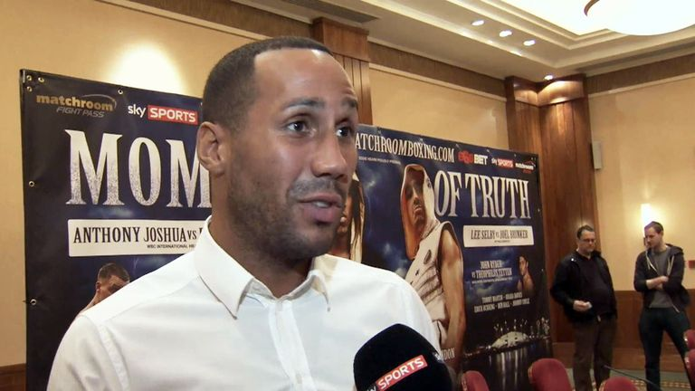 James DeGale: says losing on November 22 will end his world title chances