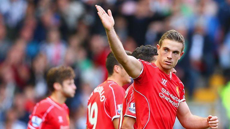 Jordan Henderson: Fine strike handed Liverpool the spoils