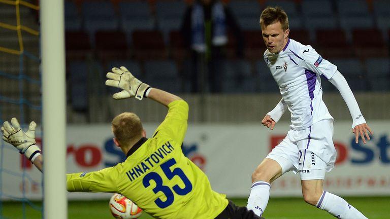 Josip Ilicic: Scores for Fiorentina