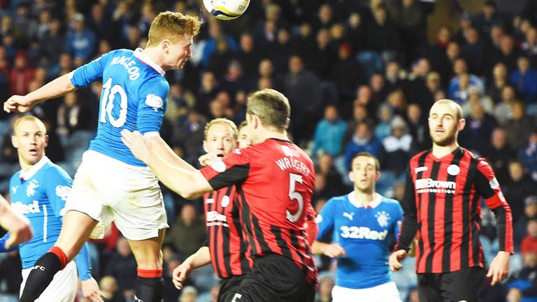 Lewis Macleod scores the vital goal as Rangers beat St Johnstone