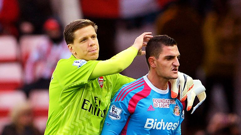 Could Szczesny be set for the same fate as Vito Mannone and find himself discarded by Arsenal?