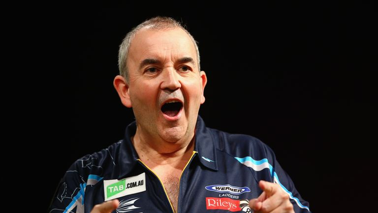 Phil Taylor: the sixteen-time World Champion has outlined his plans to step back from the game