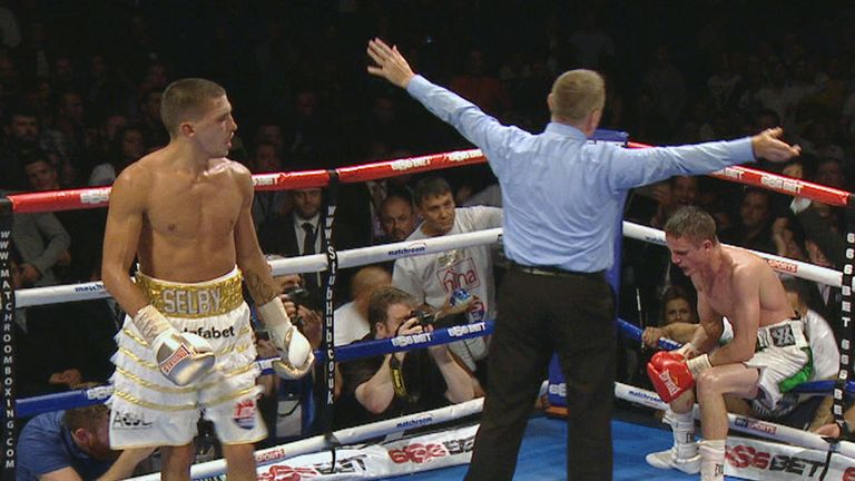 Lee Selby: stopped Joel Brunker in nine rounds