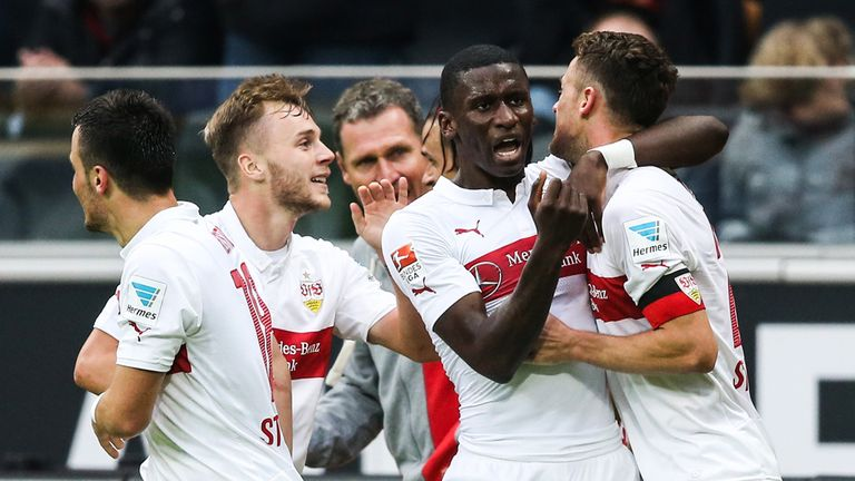 Stuttgart celebrate their amazing win