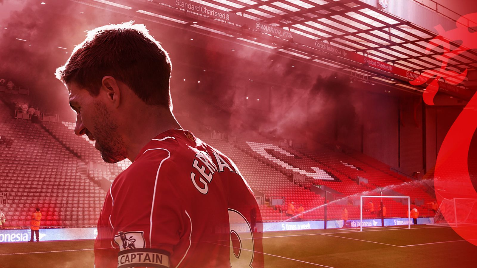 3428cdabd Steven Gerrard on all things Liverpool  playing at Anfield
