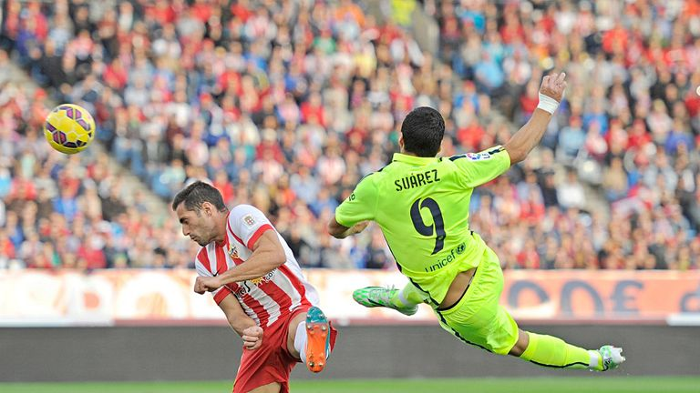 Suarez made an impact as a sub for Barcelona against Almeria but should he have started?
