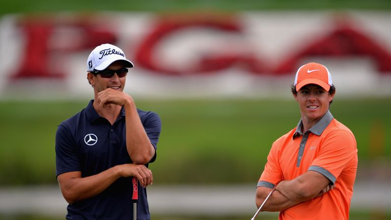 Adam Scott and Rory McIlroy: Ready to do battle again
