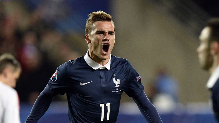 Antoine Griezmann is yet to score in a competitive game for France