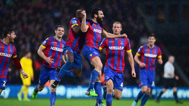 Mile Jedinak: Helped Palace to memorable win