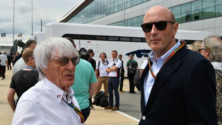 Bernie Ecclestone and Donald Mackenzie