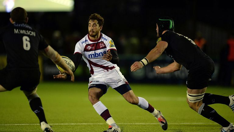 Danny Cipriani: Gave an assured display as Sale moved up to sixth in the table