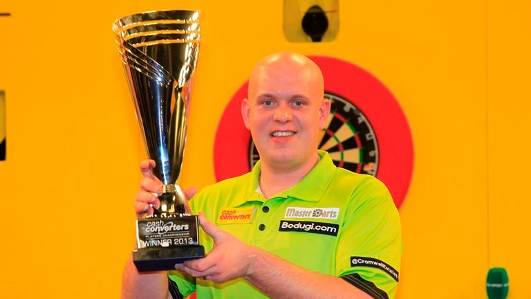 Michael van Gerwen: Defeated Phil Taylor in last year's final