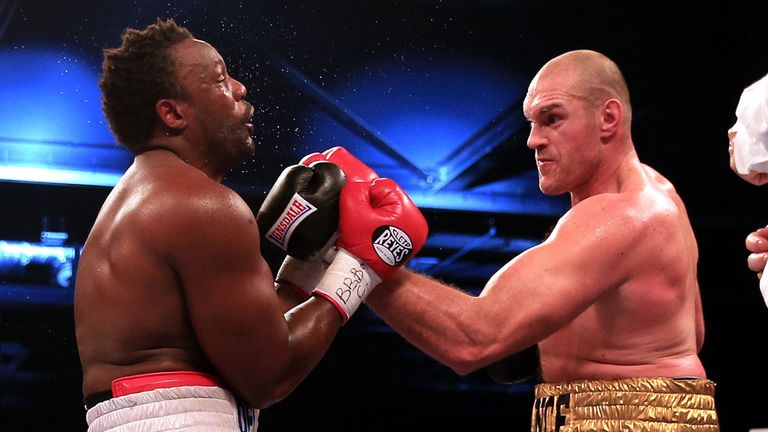 Chisora was no match for Fury's skills in their rematch