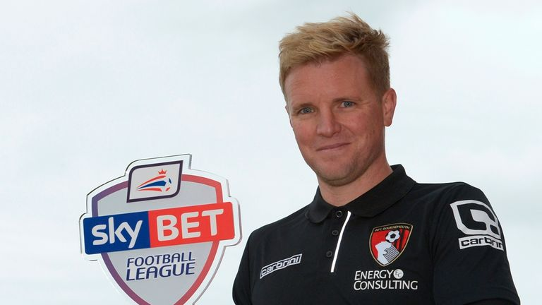 Eddie Howe, Bournemouth manager takes March award