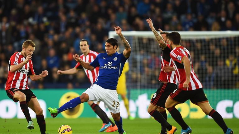 Struggling Sunderland and Leicester will play out a draw on Saturday, according to Merson