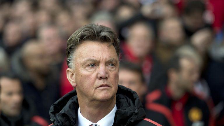 Louis van Gaal: Has been forced to use forward Wayne Rooney in midfield