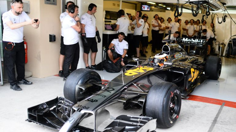 After 22 years apart, McLaren and Honda's relationship officially recommences as Stoffel Vandoorne rolls out in the interim MP4-29 in Abu Dhabi testing