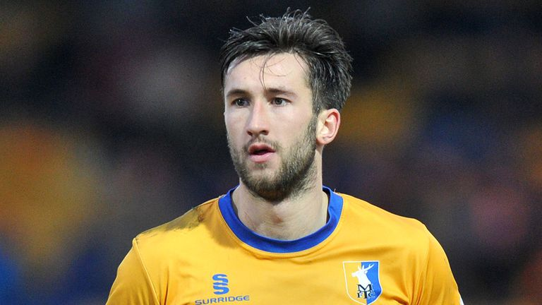 Oliver Palmer: Hit the winner for Mansfield Town