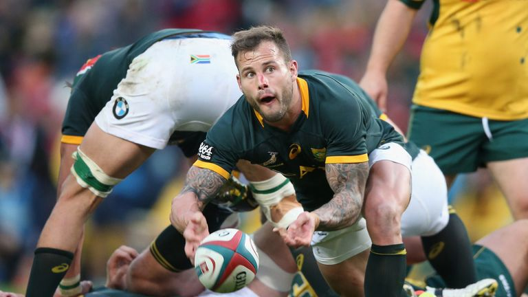 Francois Hougaard becomes the third South African to win the award