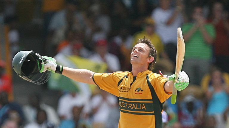 Adam Gilchrist was the second-most expensive player signed