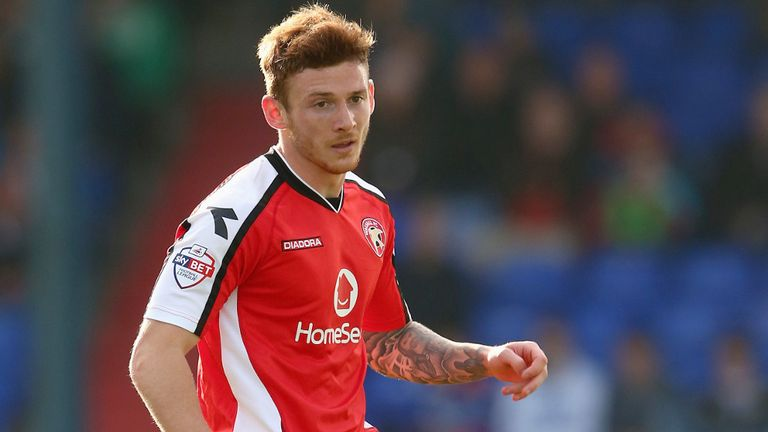 Jordan Cook: Netted both goals for Walsall
