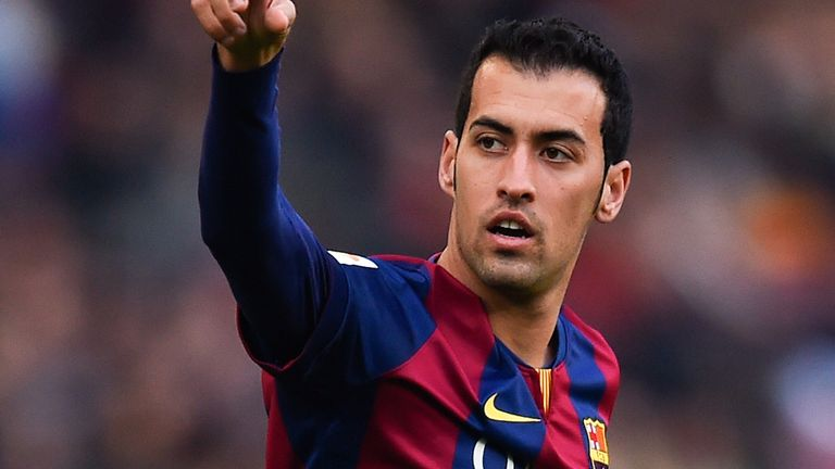Sergio Busquets: Has made over 300 appearances for Barca