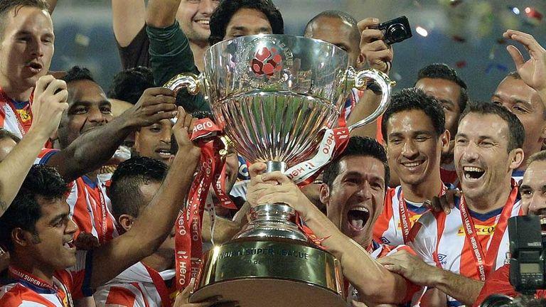Luis Garcia's Atletico Kolkata won the inaugural Indian Super League in 2014
