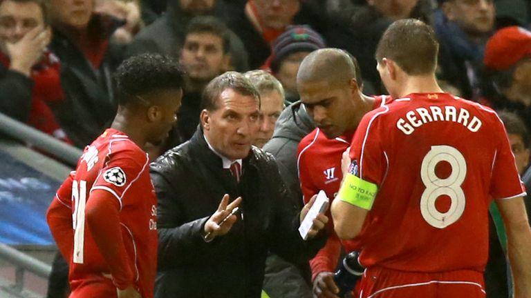 Brendan Rodgers: Insists his new squad is starting to adapt