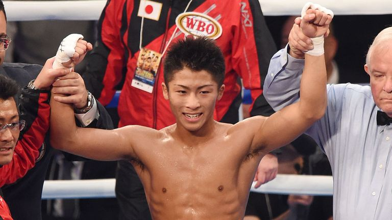 Naoya Inoue defends his WBO super-flyweight strap, live on Sky Sports