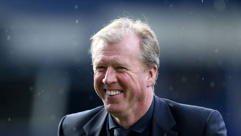 Steve McClaren: New signing on cards for Derby