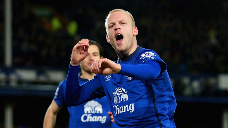 Everton and Steven Naismith could be in a dogfight this time next week