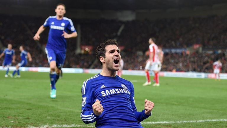 Cesc Fabregas is one of Chelsea's Spanish players pulling in support from southern Europe